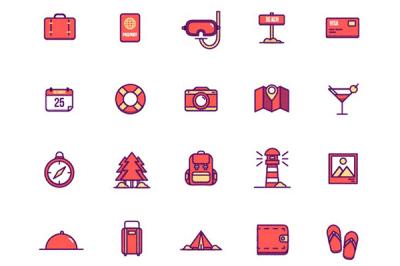 Free Summer Holiday Icons | Recursos gratuitos de julio para diseñadores | mlmonferrer.es