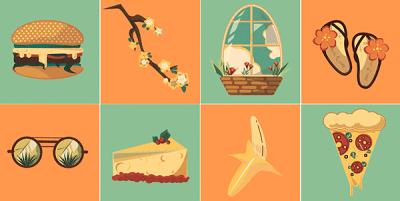Free Summer Vector Icon Pack   Recursos gratuitos de julio para diseñadores   mlmonferrer.es