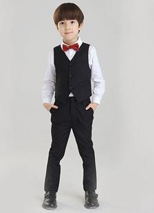 Multicolor Boy's Suit Trendy Polyester Children's Suit