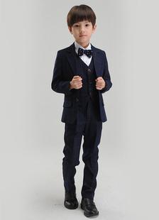 Multicolor Chic Boy's Suit Bow Tie Polyester Children's Suit