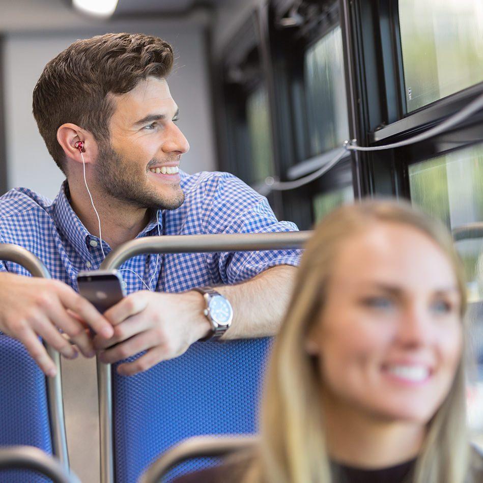 passenger-smiling-rider-comfortable