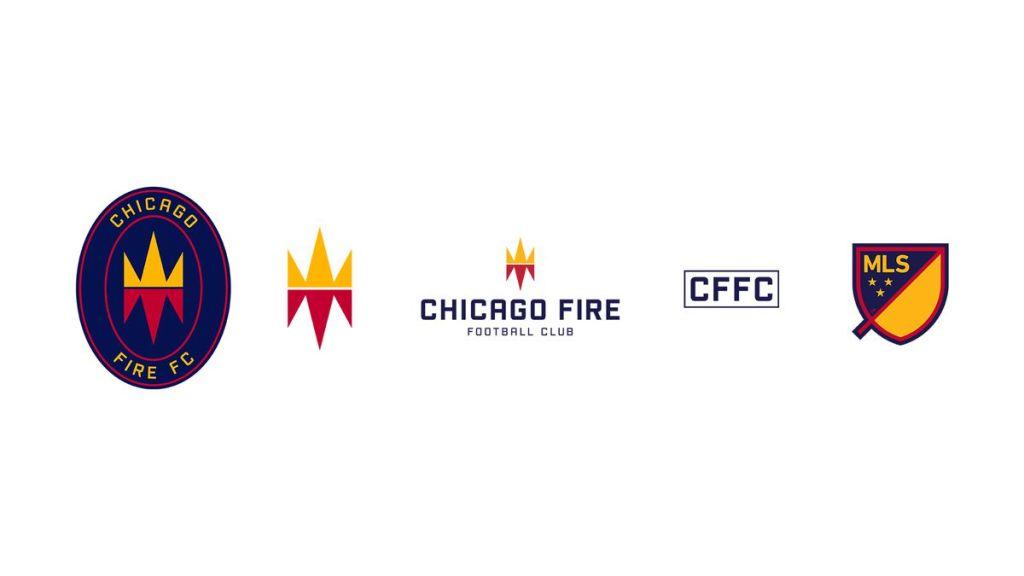 New logo brand Chicago Fire | MLS Magazine italia
