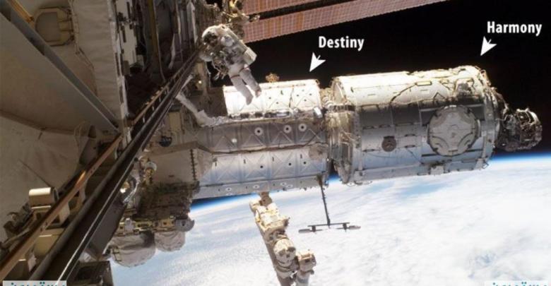 الخرائط الميكروبية : اكتشافها في محطة الفضاء الدولية