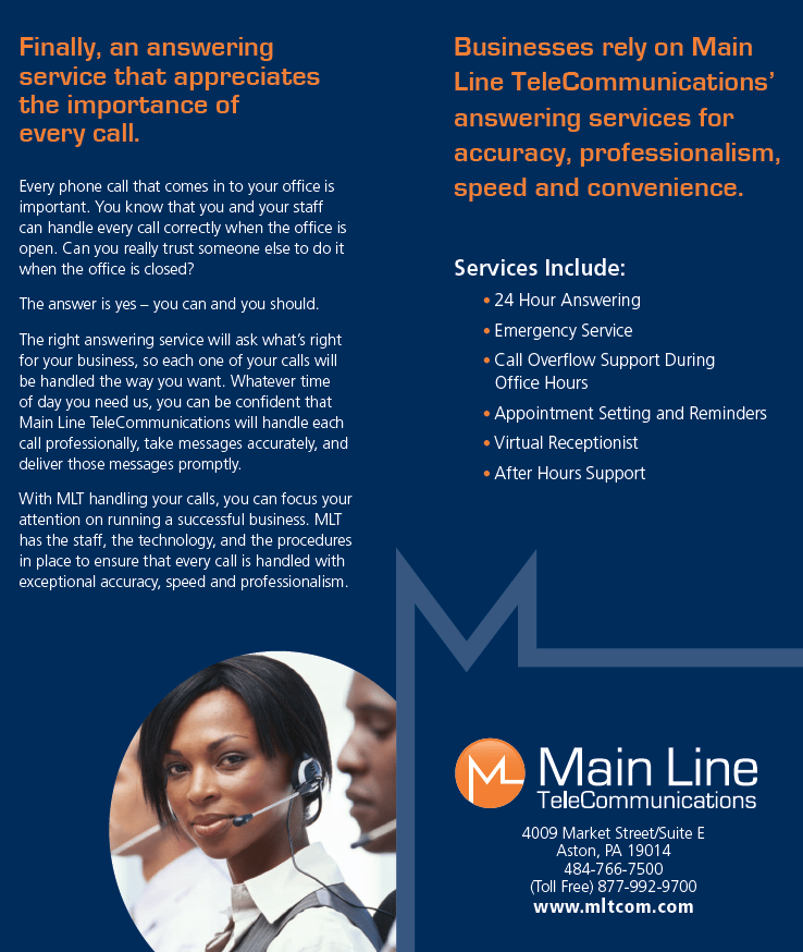Why Main Line TeleCommunications