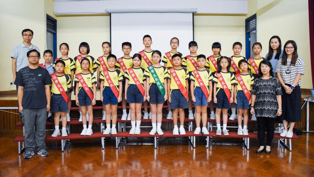 學生長訓練   基督教香港信義會馬鞍山信義學校