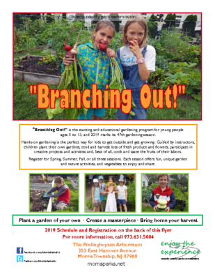 Learning to Garden – Morris County Park Commission