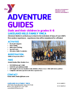 Join Adventure Guides – Lakeland Hills Y