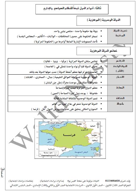 ملخص الجغرافيا للثانوية العامة
