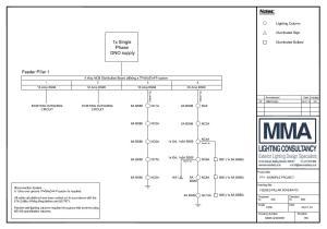 Private Lighting Cable Design | MMA Consultancy