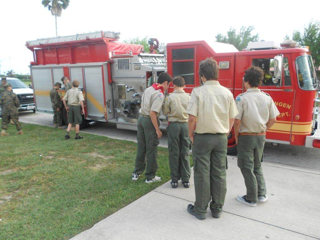 Boy Scouts Troop 22 News Fire Safety Part I