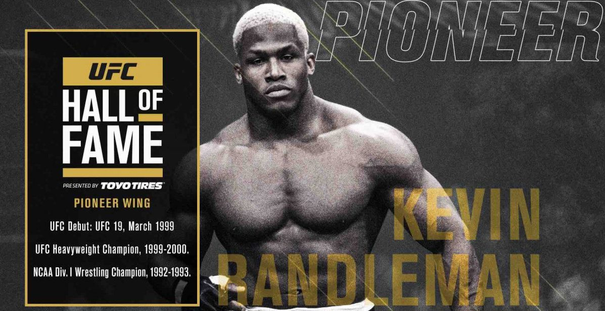 Kevin Randleman announced as 2020 UFC Hall of Fame inductee