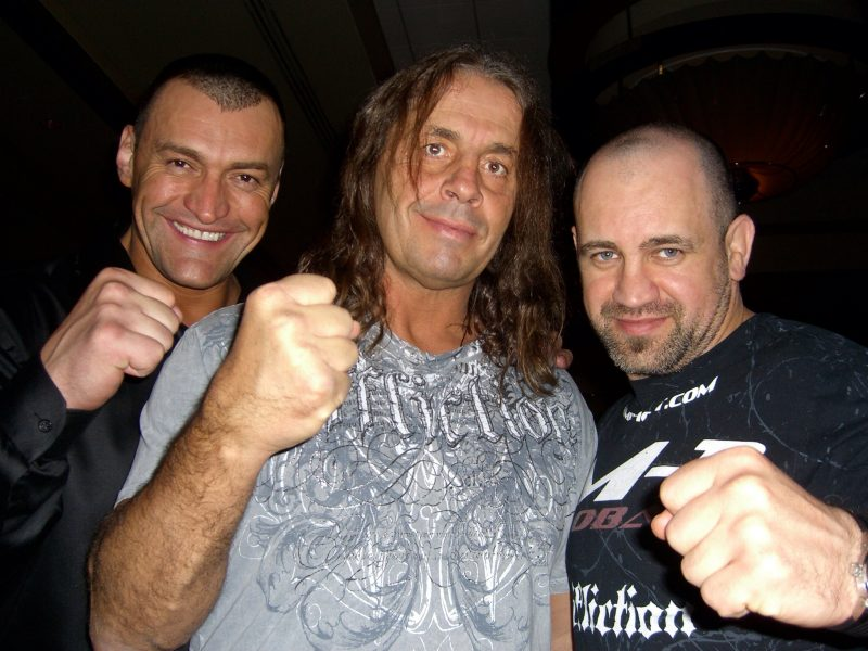 WWE Hall-of-Famer Bret Hart prepares to battle prostrate cancer