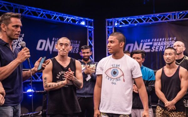 Rich Franklin's ONE Warrior Series: Bactol, Kim, and Park all earn $100K and fight contract