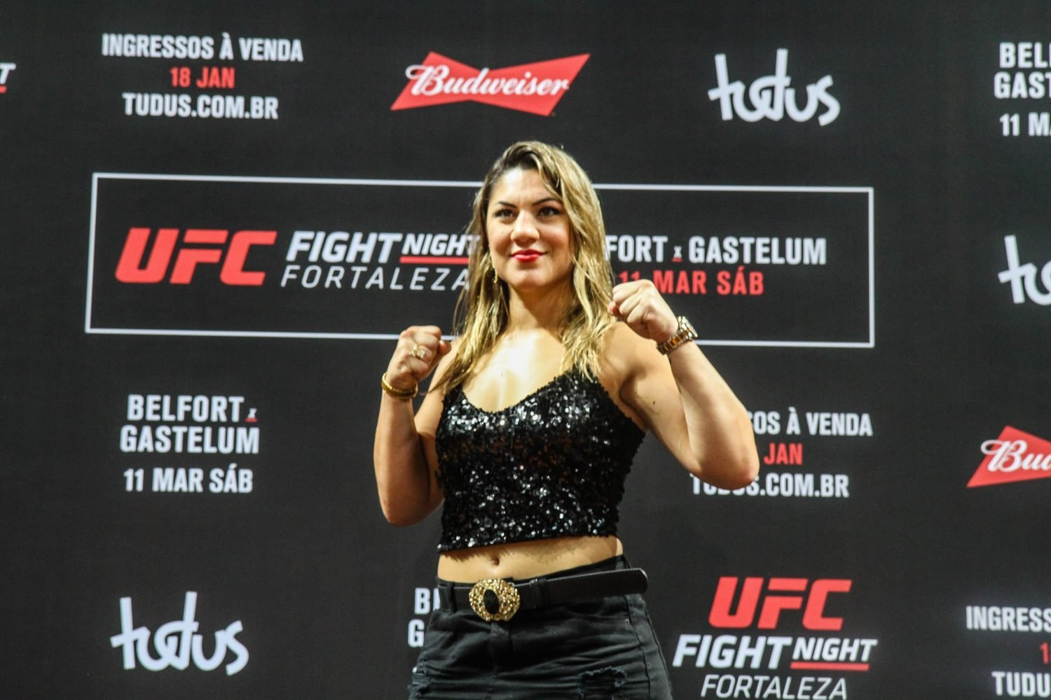 UFC 227: Bethe Correia pulls out with injury