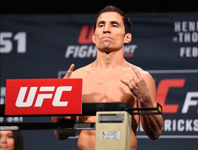 UFC Fight Night 139: Joseph Benavidez takes on Ray Borg