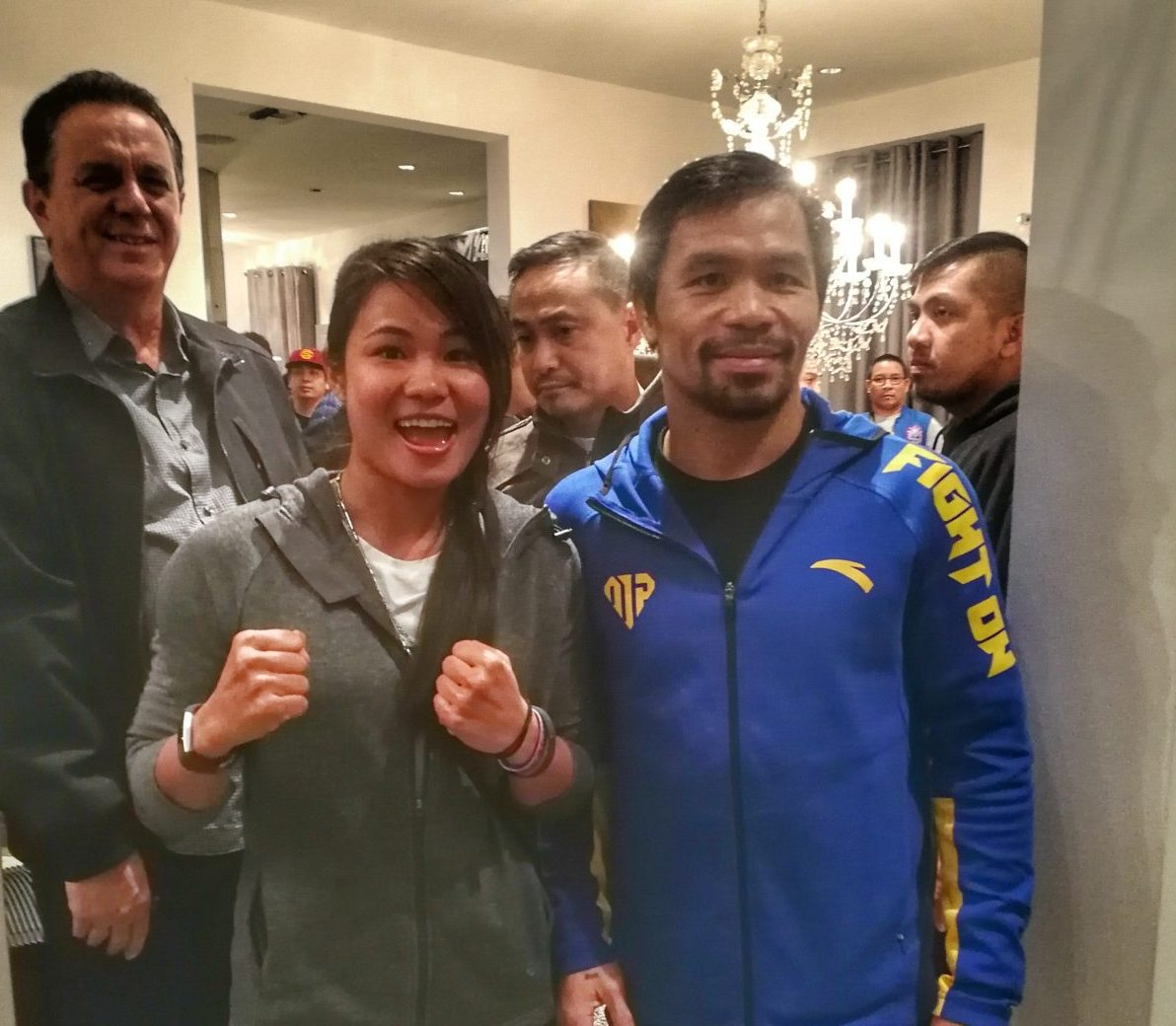Manny Pacquiao makes lifetime dream come true for Cambodia's first female MMA fighter