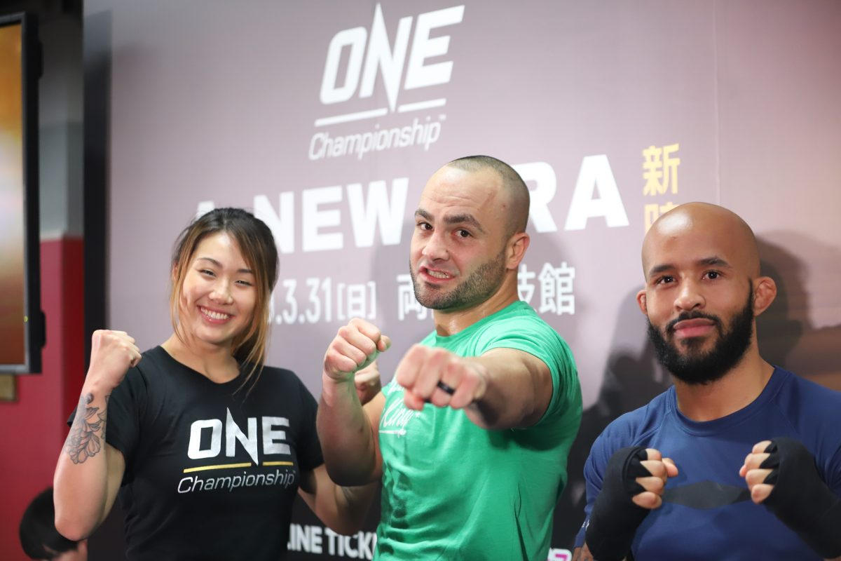 ONE Championship holds Tokyo open seminar featuring Angela Lee, Eddie Alvarez, and Mighty Mouse