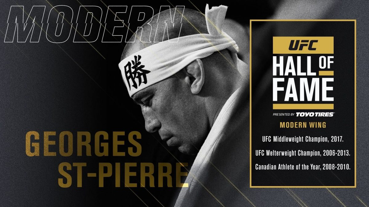 UFC Hall of Fame 2020: Georges St-Pierre named as modern wing inductee