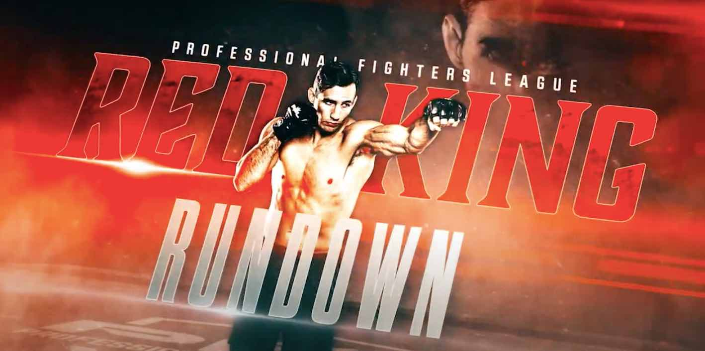 PFL launches six-part series on Rory MacDonald called 'Red King Rundown'