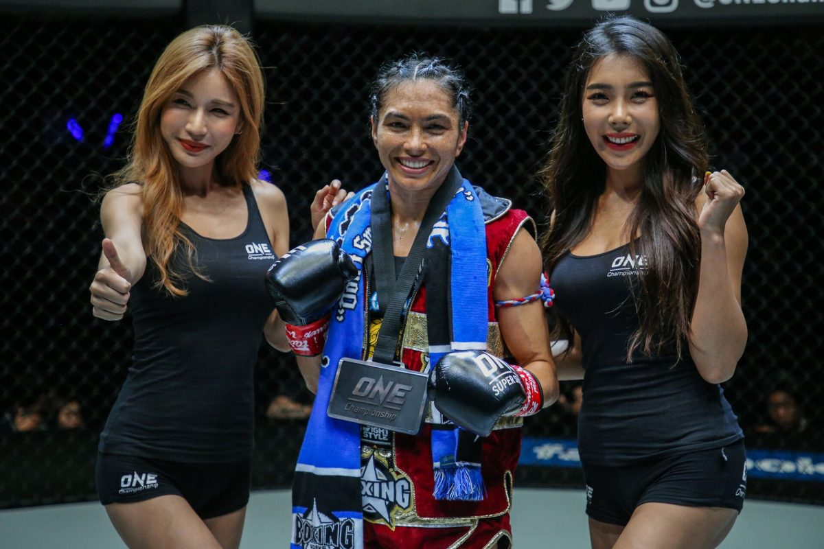 ONE Championship world kickboxing champion Janet Todd scheduled to appear on TKO Countdown