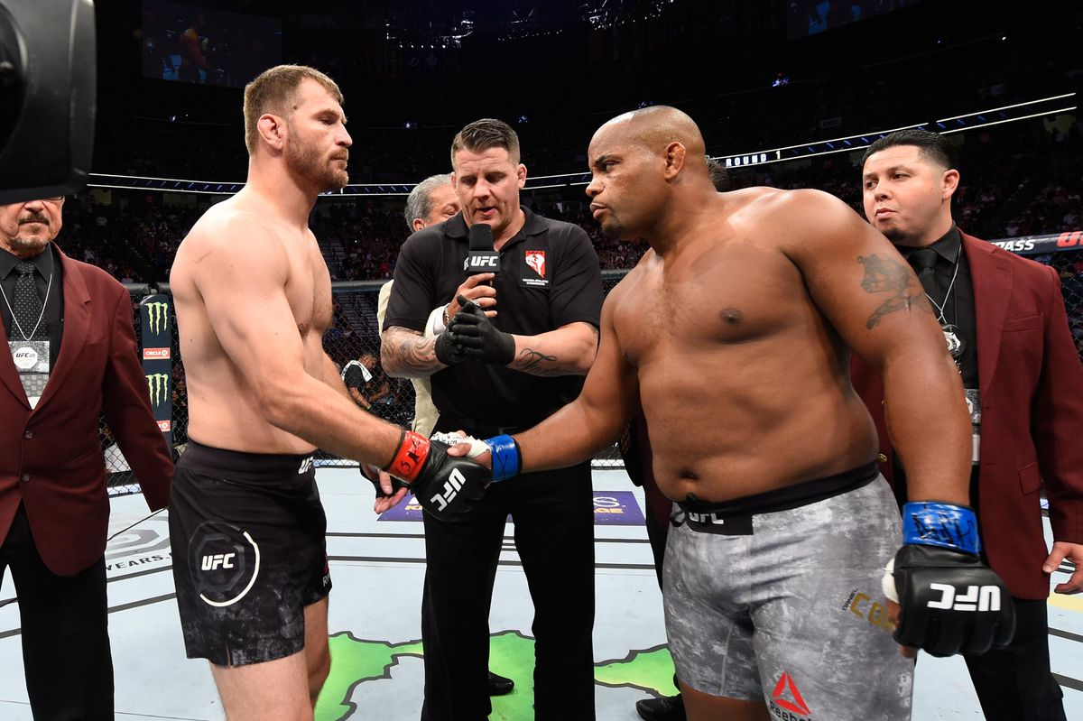 Andrews: May the best octagon heavyweight ever win at UFC 252