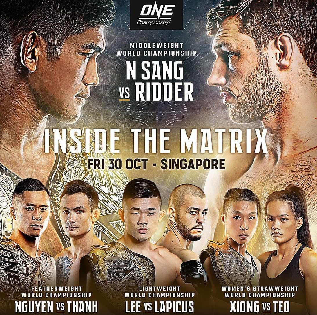ONE: Inside the Matrix: 4 title bouts revealed