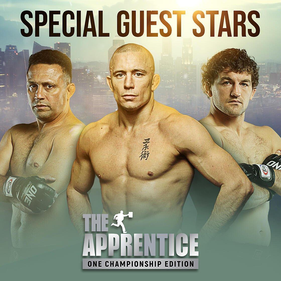 GSP, Renzo Gracie, Ben Askren join The Apprentice: ONE Championship Edition