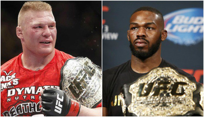 Jon Jones calls out Brock Lesnar again, Gustafsson calls out Jones -