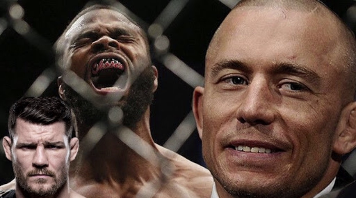 Bisping, GSP and Tyron continue to play musical chairs -