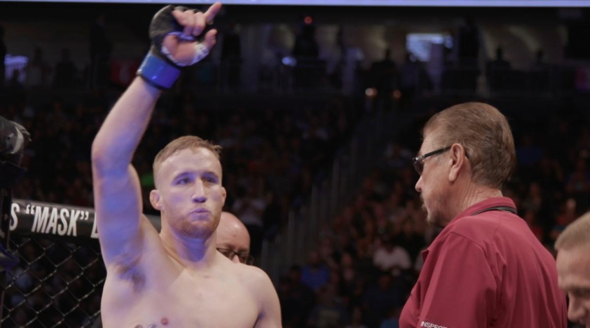 Justin Gaethje wants a violent fight against Kevin Lee or Dustin Poirier -