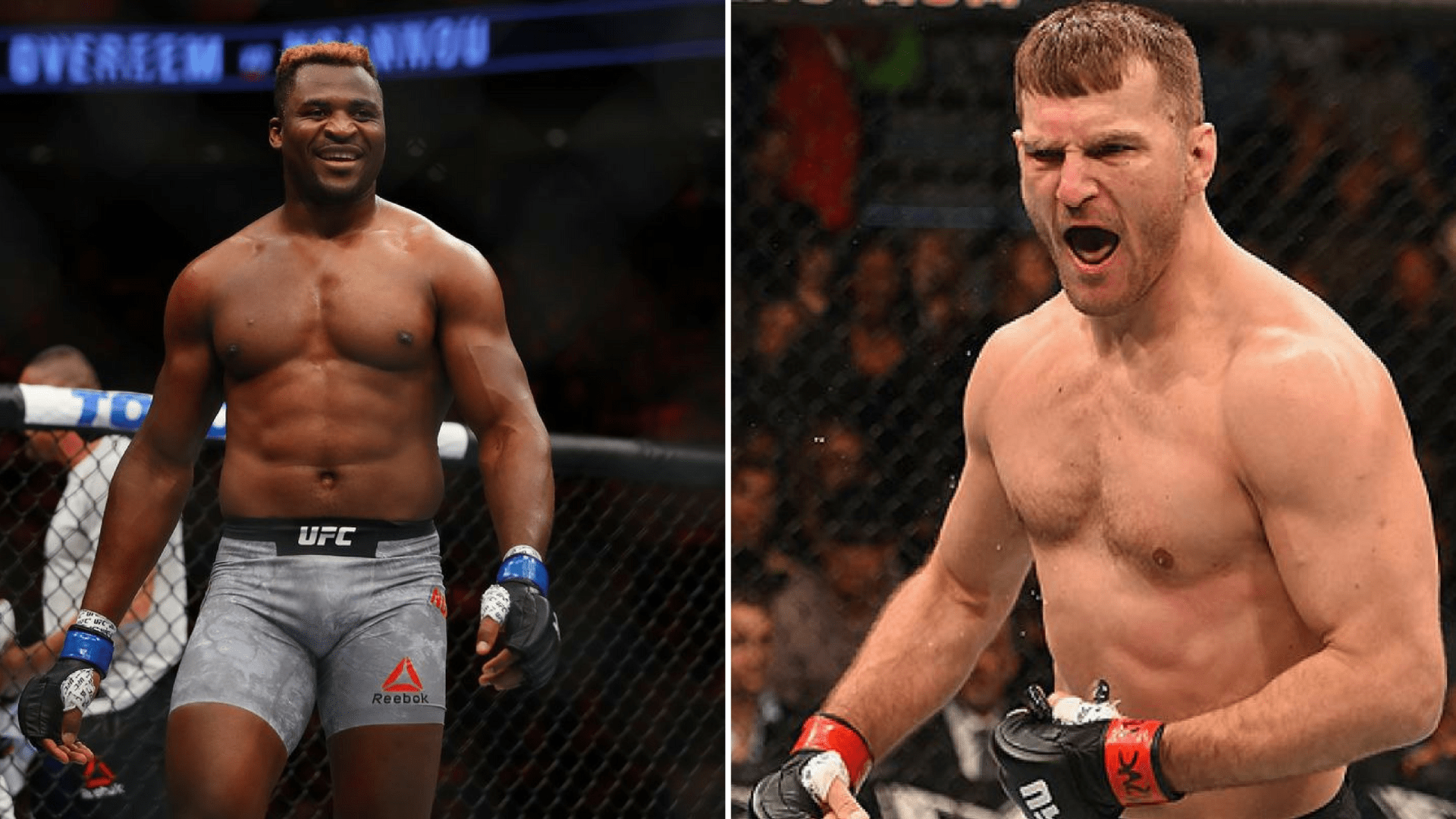 Francis Ngannou fires a barb back at Stipe Miocic -