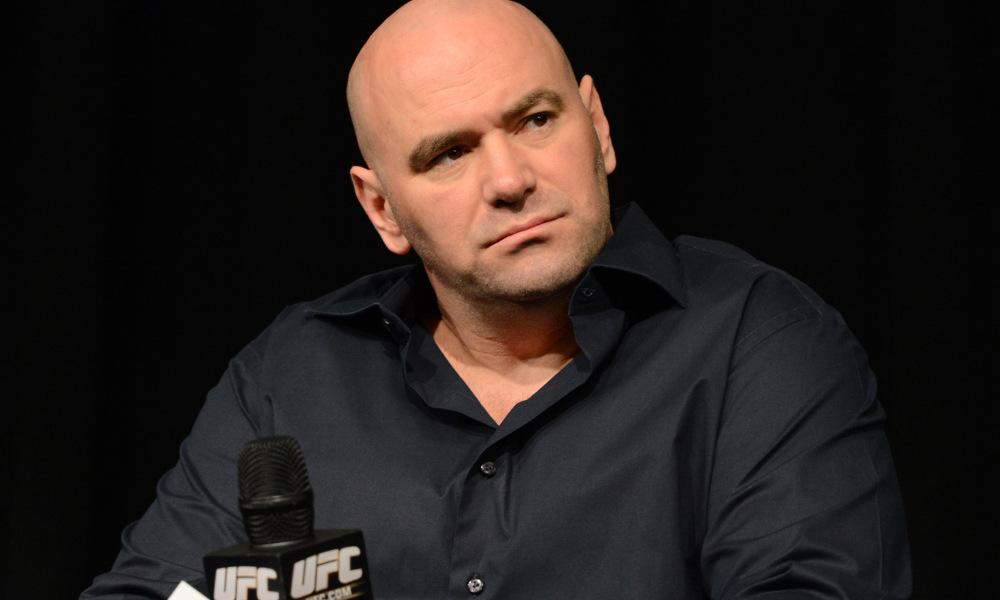Dana White not mad at George Saint Pierre -