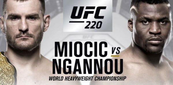 UFC 220 Stipe Miocic vs. Francis Ngannou: 5 Fights to Watch For -