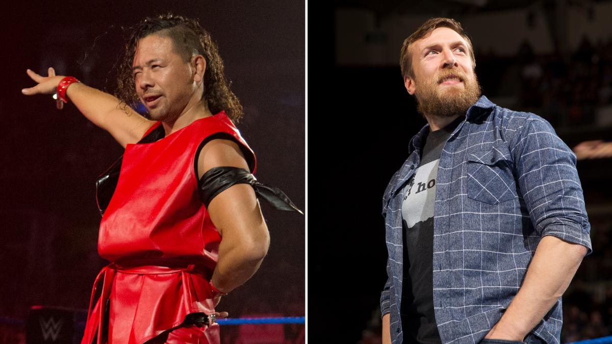 WWE: Kurt Angle and Shinsuke Nakamura tease a match against Daniel Bryan. - Daniel Bryan
