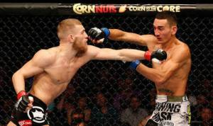 UFC: Featherweight Champion Max Holloway mocks Conor McGregor on his Burger King Commercial - Max Holloway