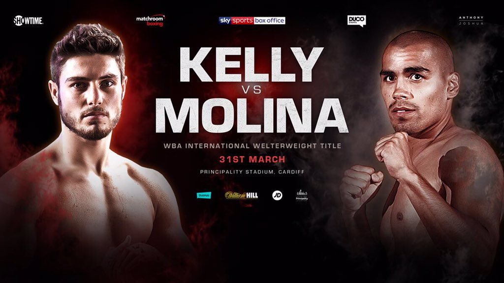 BOXING: Josh Kelly steps up in competition - Kelly