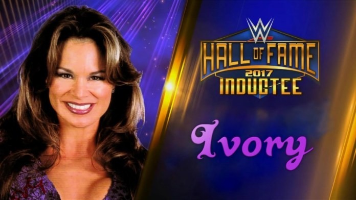 WWE: Molly Holly to induct Ivory into the Hall of Fame. - Ivory