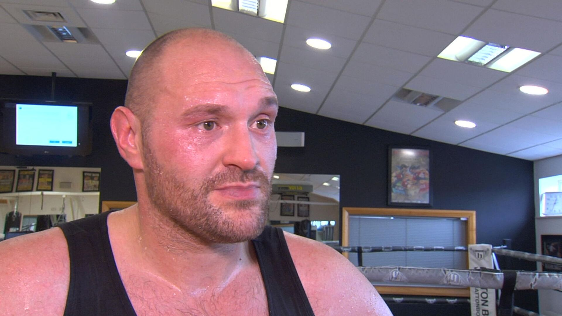 Boxing: Tyson Fury Challenges Anthony Joshua Outside The Ring(VIDEO) - Fury