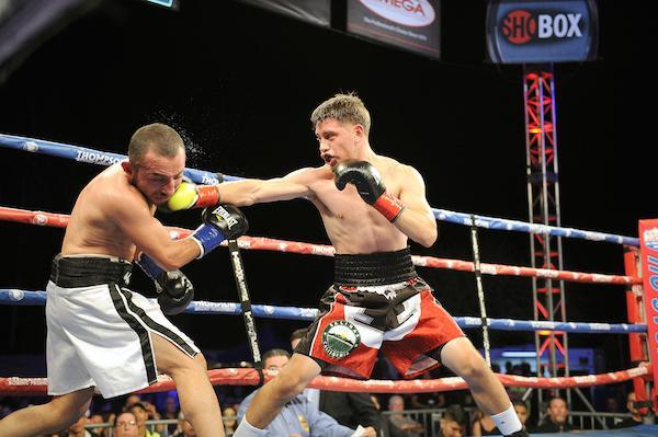 Boxing: Ruben Villa wins WBO Youth Featherweight title - Ruben
