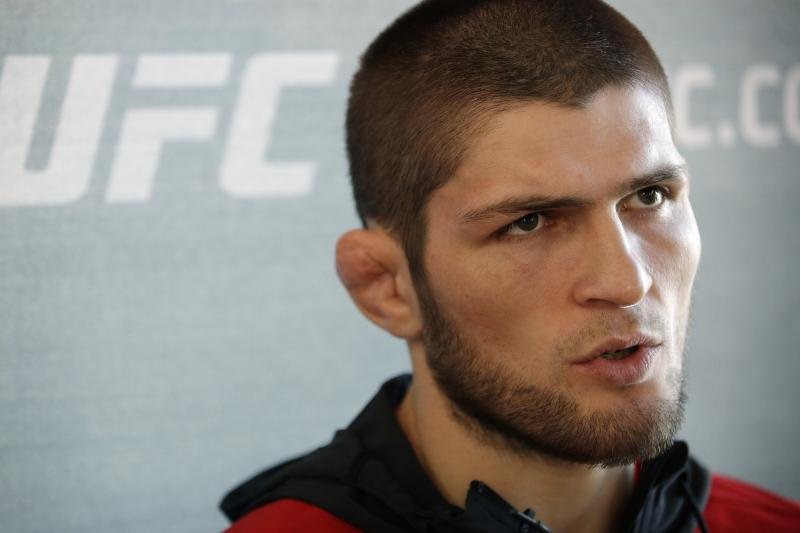 UFC: Khabib misses morning media obligations - Khabib Nurmagomedov
