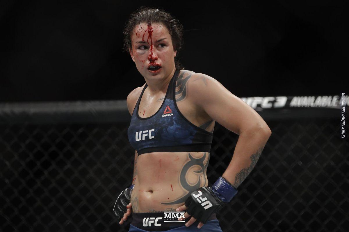 UFC: Raquel Pennington's coach opens up about his decision to send out Pennington for the fifth round against Amanda Nunes at UFC 224 - Raquel Pennington