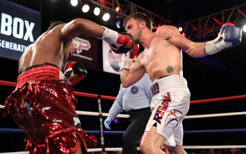 Boxing: Davin Haney stops Mason Manard in ninth round - Haney