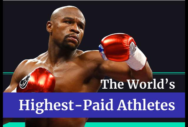 Floyd Mayweather regains title as the world's highest paid athlete - Mayweather