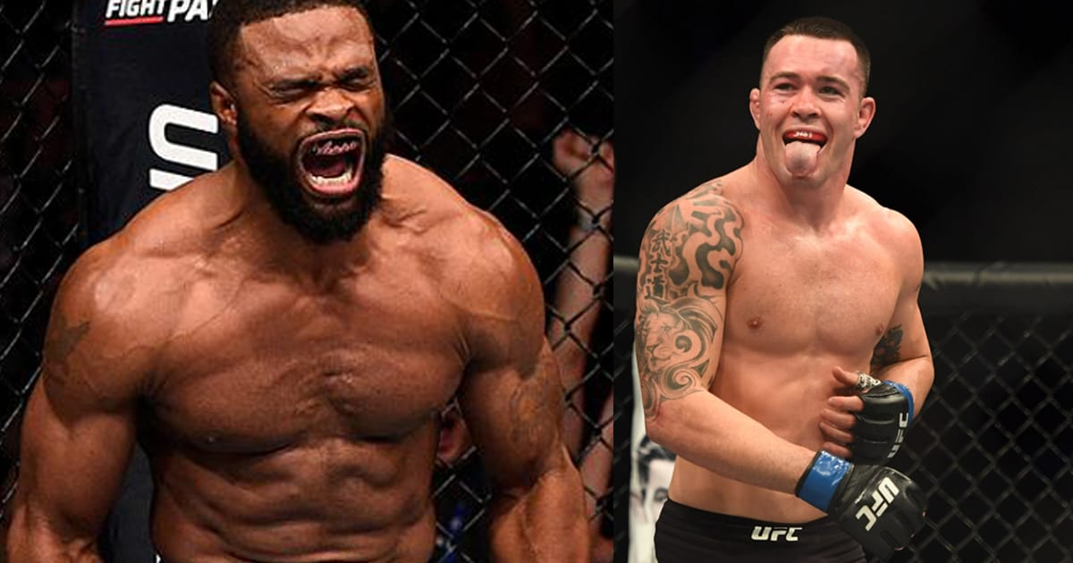 UFC: Tyron Woodley has a 10,000$ bet for Colby Covington - tyron woodley