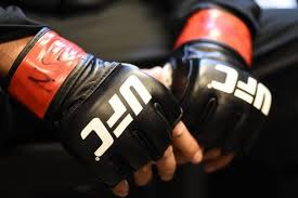 UFC using AI inspired gloves for collection of data - Al