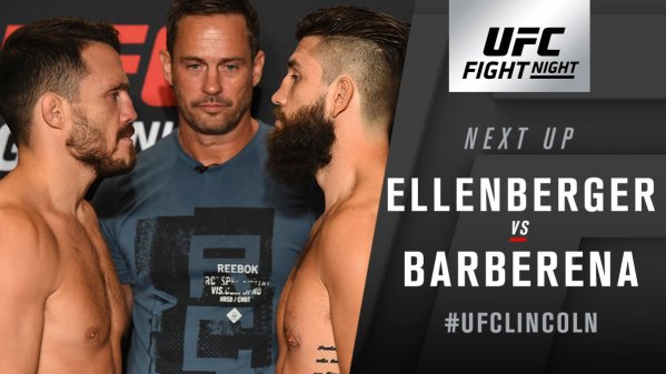 UFC Fight Night 135 Gaethje vs Nick - Live Results & Play by Play Updates -