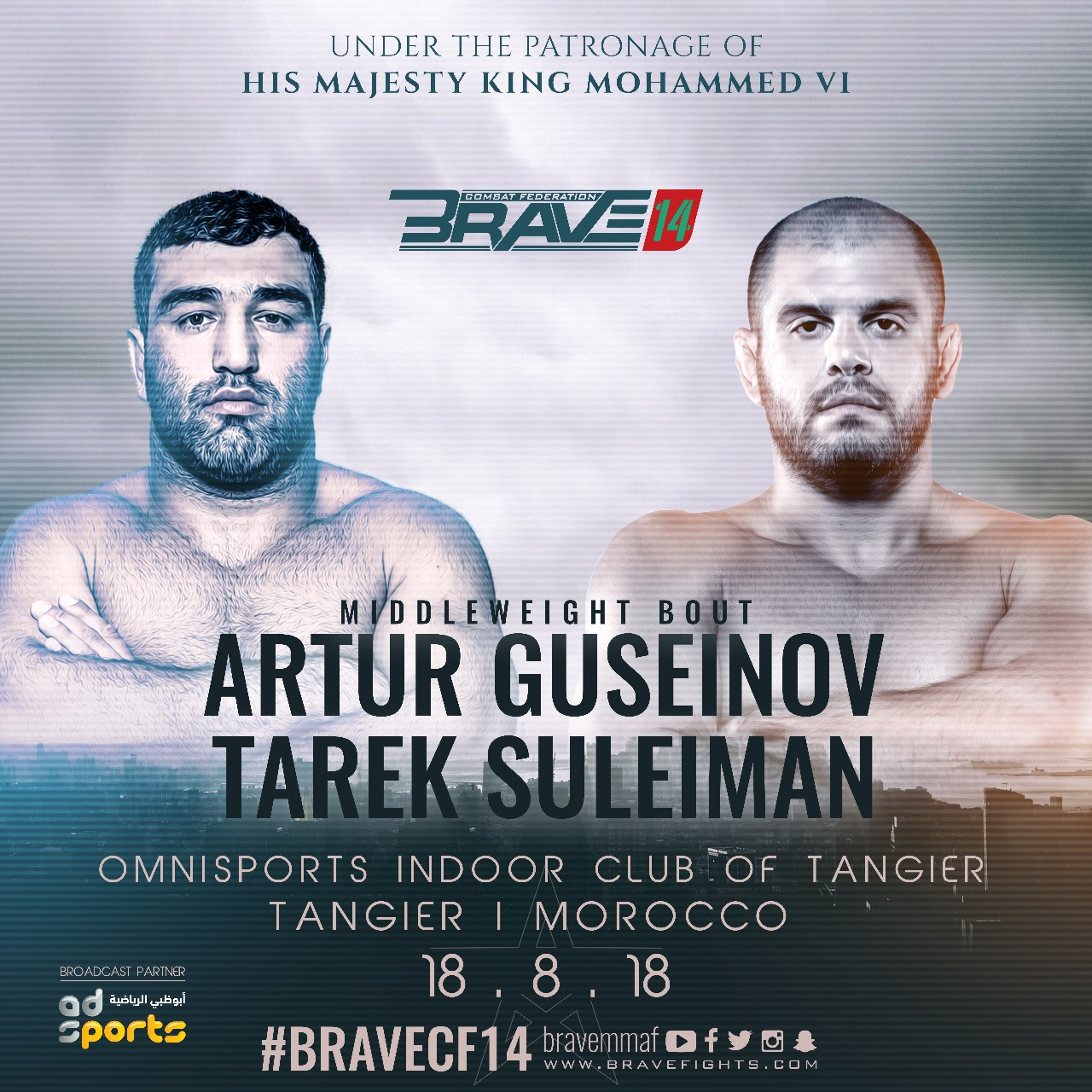 Middleweights under pressure ahead of Brave 14 - Brave 14