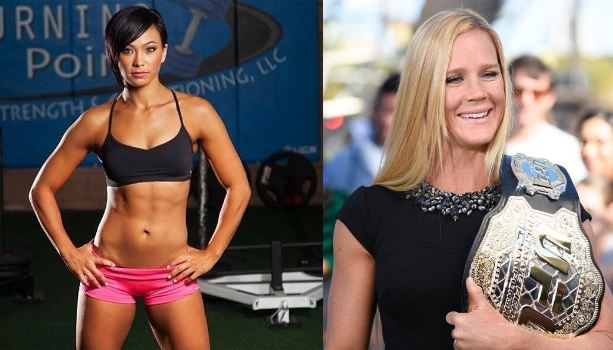 Holly Holm and Michelle Waterson do the level up dance challenge -