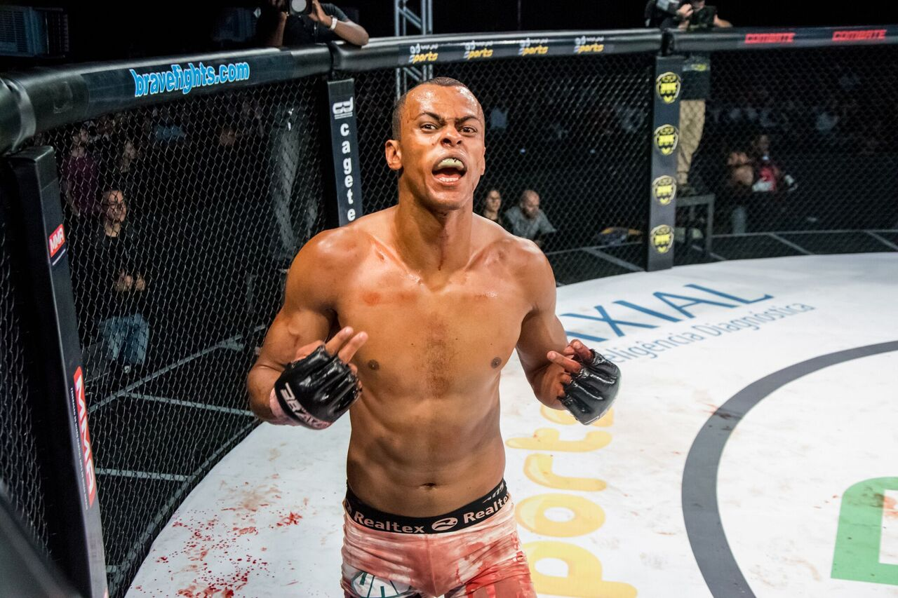 """Cleiton """"Predator"""" ready to hunt another victim at Brave 15 - Cleiton"""