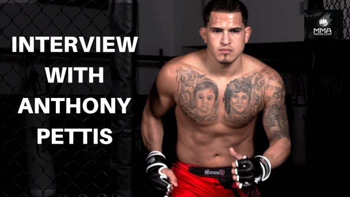 Interview with Anthony Pettis. - anthony